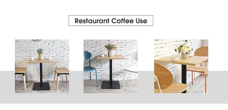 Tavolini da caffè quadrati 70x70cm in legno di pino TTAW-N01-SQ70-30 (3)