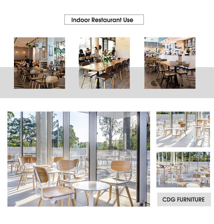 Sedia da ristorante Fashion Bistro Coffee Chain 658A-H45 (77)-STW