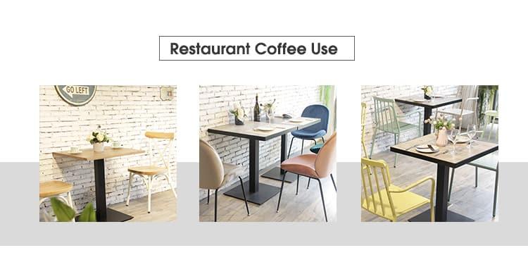 Base de mesa de pedestal de metal para mesa de café TBIR-07 (7)