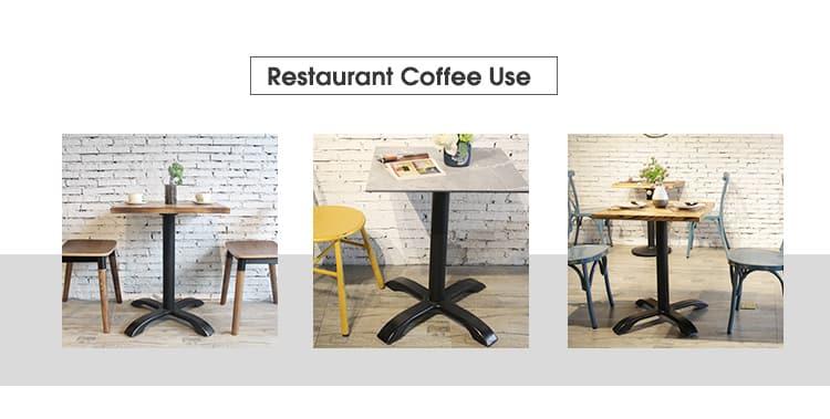 Cast Metal Loft Crank Restaurant Cafe Table Base TBIR-09 (2)